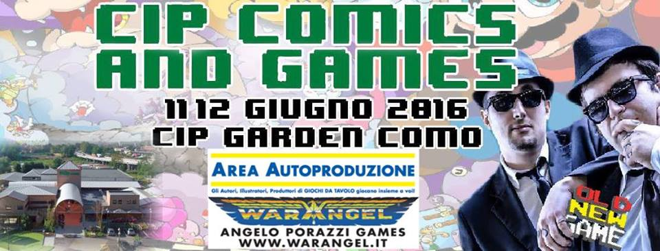 Cip Comics and Games 16