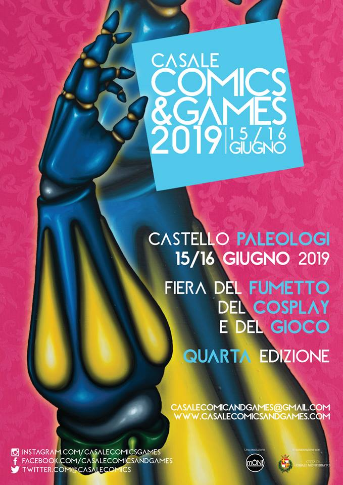 Casale Comics and Games 2019